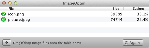 ImageOptim window screenshot